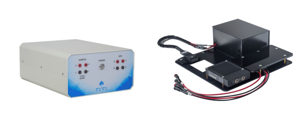 Integrated Auto-switch box and test fixtures for automatic multi-channel measurement.