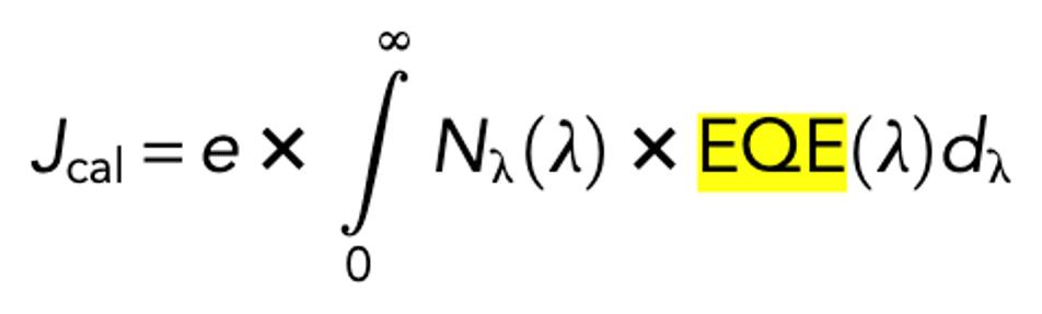 EQE formula