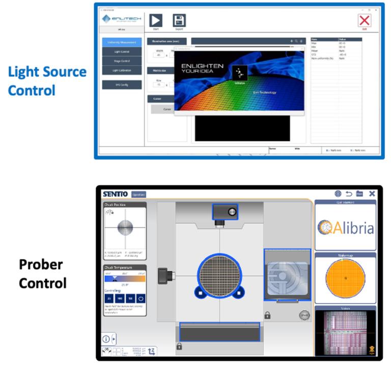 CIS/ALS/Light-Sensor wafer tester_software