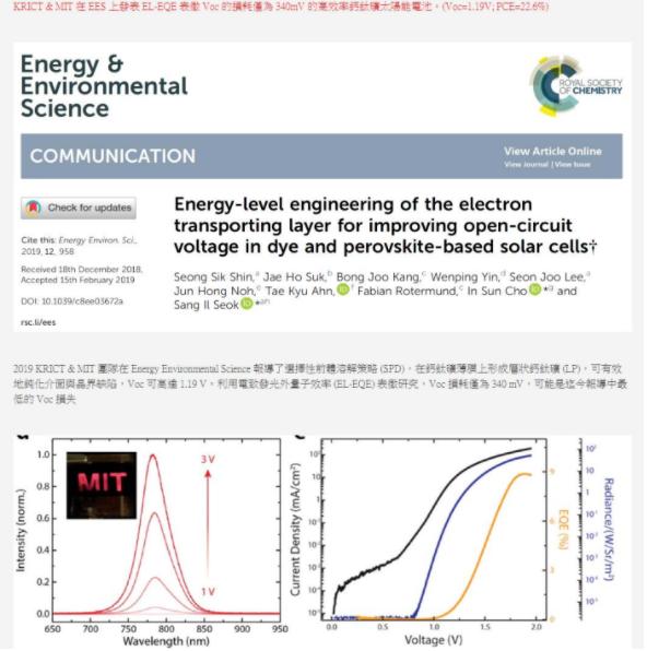 ΔE3非辐射损耗是高效率的关键