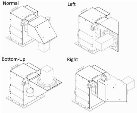 Solar-Simulator-output-beam-direction