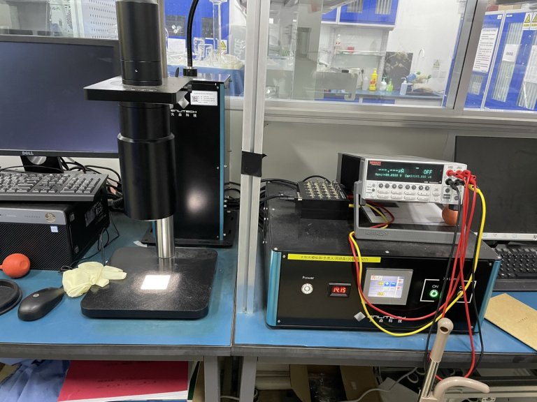 Solar Simulator 太陽光模擬器 鈣鈦礦太陽能電池SS-X50 Perovskite Si tandem OPV